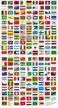 Fourniture De Drapeaux Des Pays Du Monde